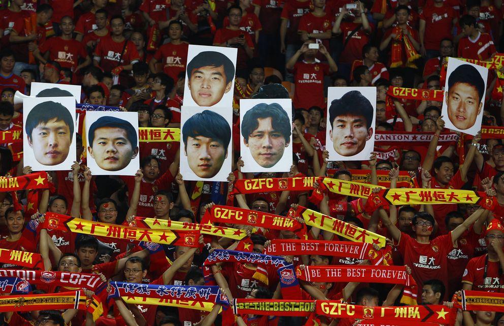 Foto: La fiebre por el fútbol en China sigue creciendo (Reuters)