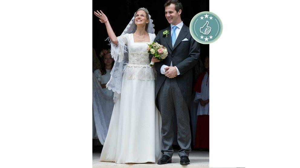 Las mejor y peor vestidas de la boda real de Alix de Ligne y Guillermo Dampierre