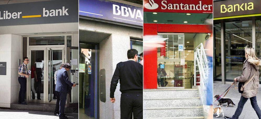 Foto: Oficinas de bancos.