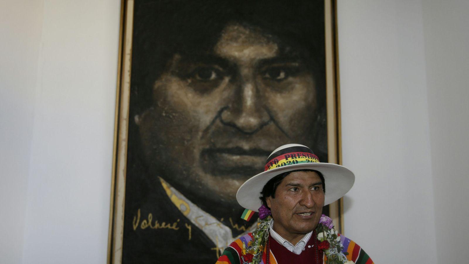 Foto: Evo Morales, presidente de Bolivia. (Reuters)