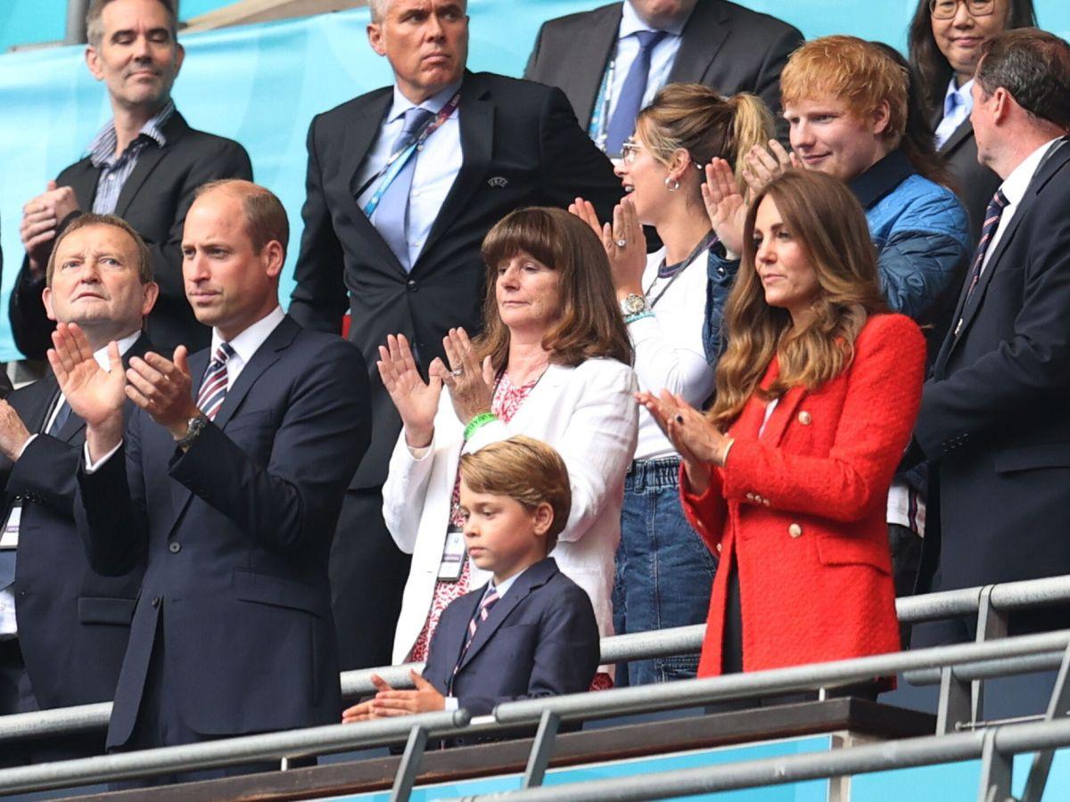 Foto: Los duques de Cambridge, con el príncipe George. (Reuters)