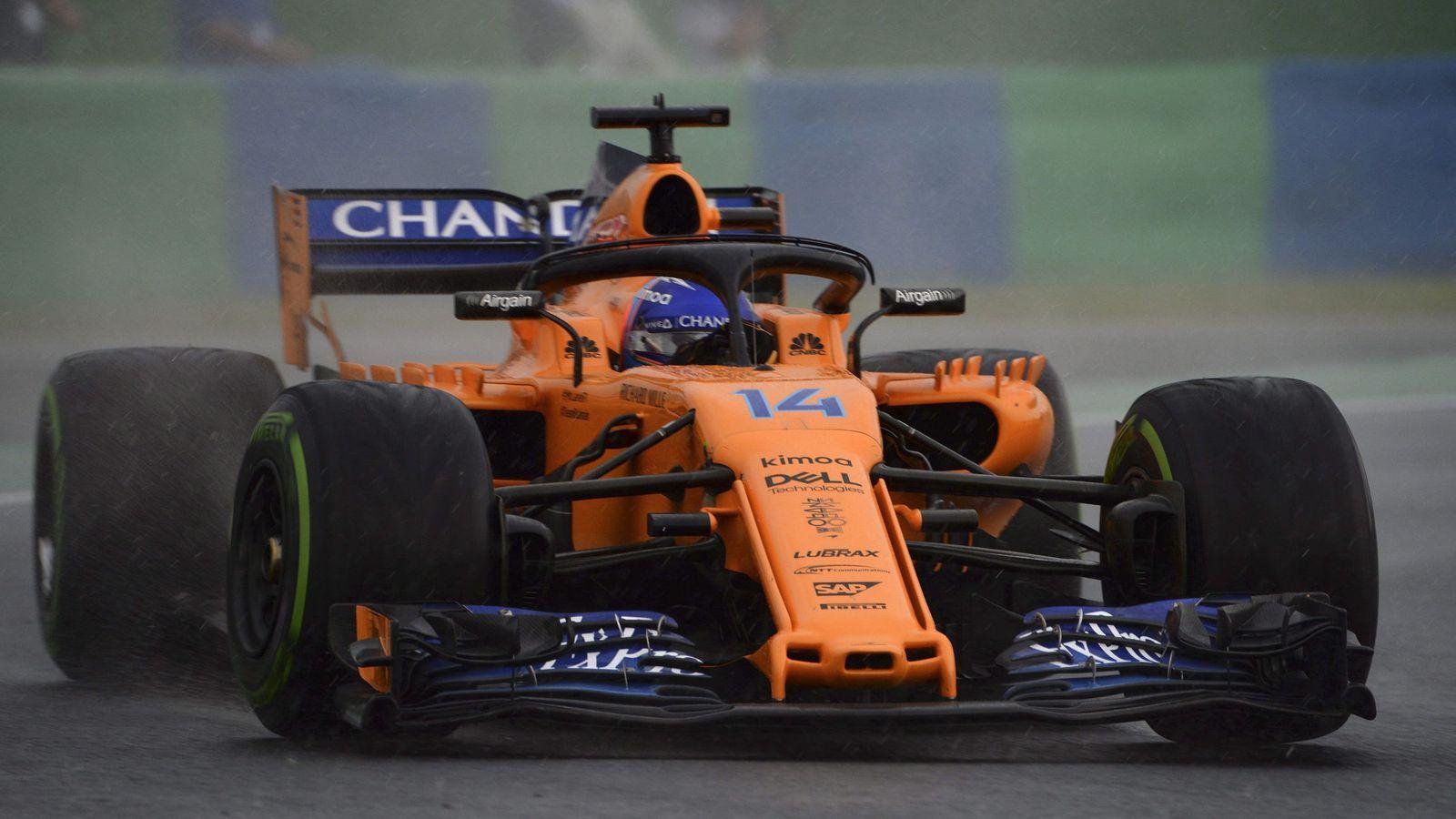 Foto: Fernando Alonso saldrá desde la 11ª posición este domingo en Hungaroring. (EFE)