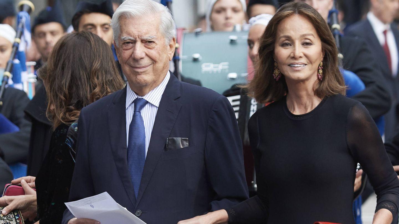 Isabel Preysler y Mario Vargas Llosa, en 2018. (Getty)
