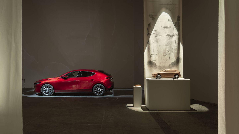 Podrás ver de cerca un Mazda de arcilla.  (Cortesía)