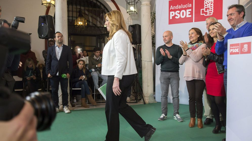 Foto: La secretaria general del PSOE-A, Susana Díaz. (EFE)