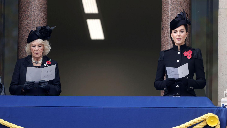 Kate y Camilla. (Reuters)