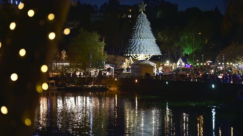 Árbol de navidad gigante en el Líbano