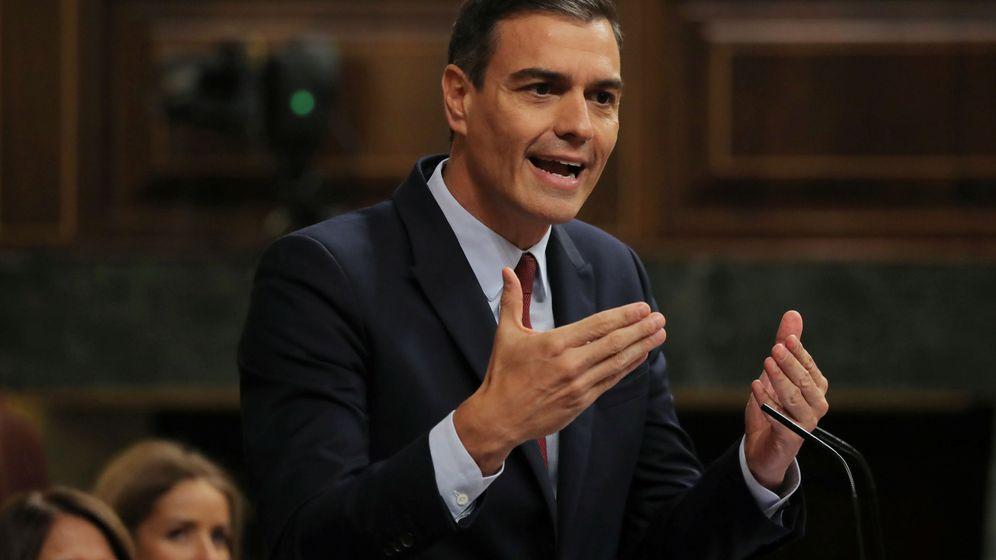Foto: Pedro Sánchez, durante el debate de investidura (Reuters)