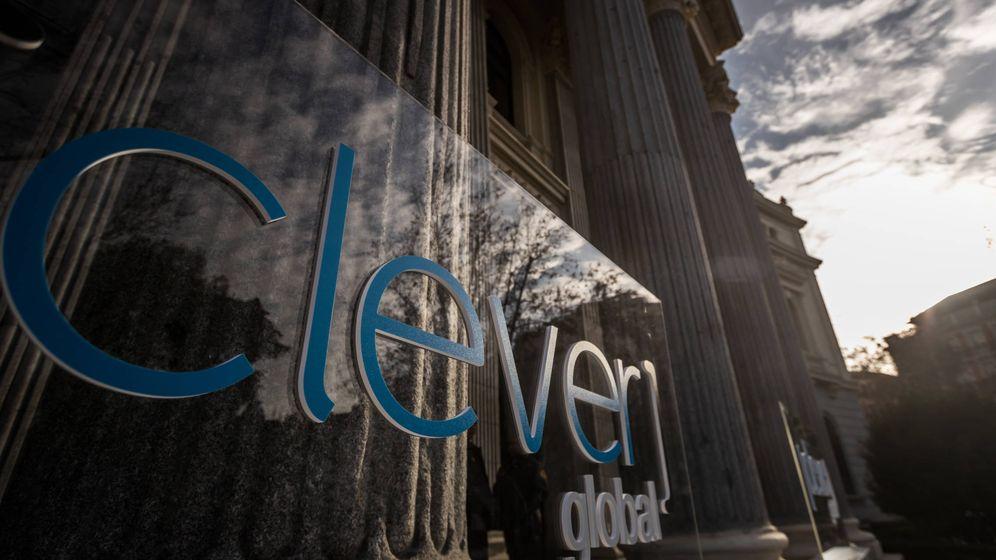 Foto: Logo de Clever en su estreno bursátil. (Clever)