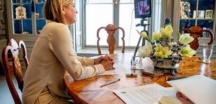 Post de El despacho de Máxima es la antítesis del de Letizia: los analizamos