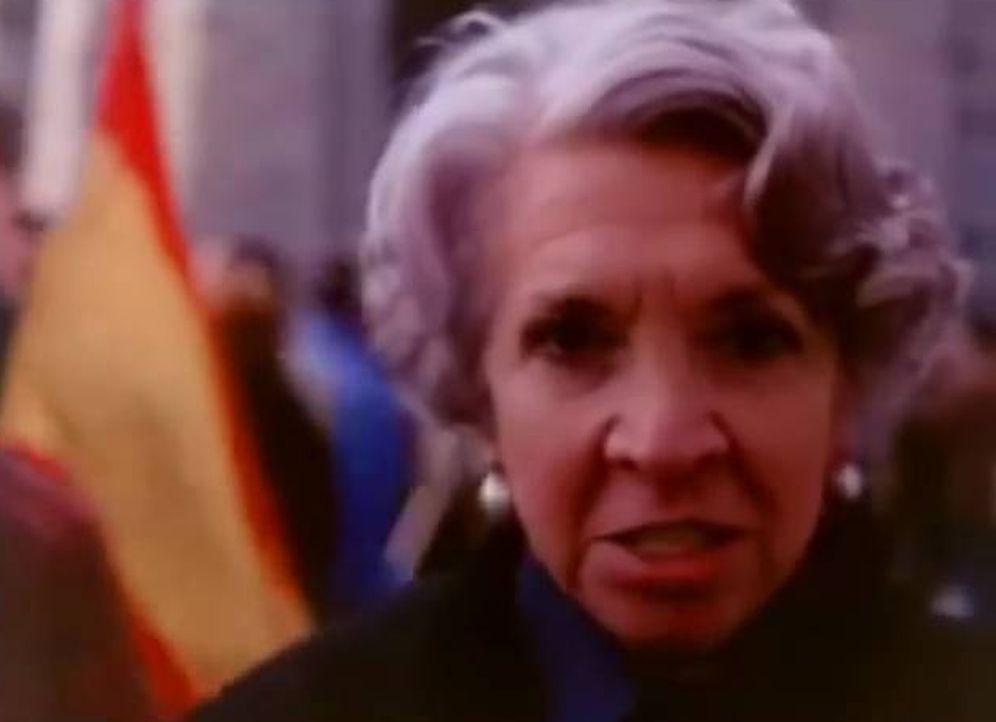 Foto: La señora más franquista, en el documental.