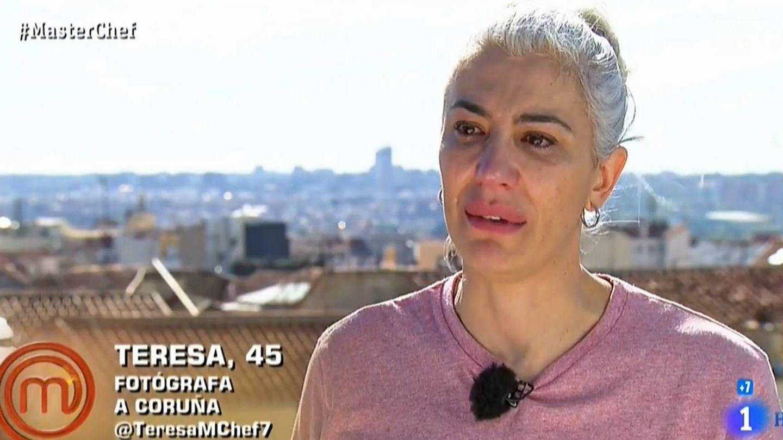 Teresa, en 'Masterchef'. (RTVE)