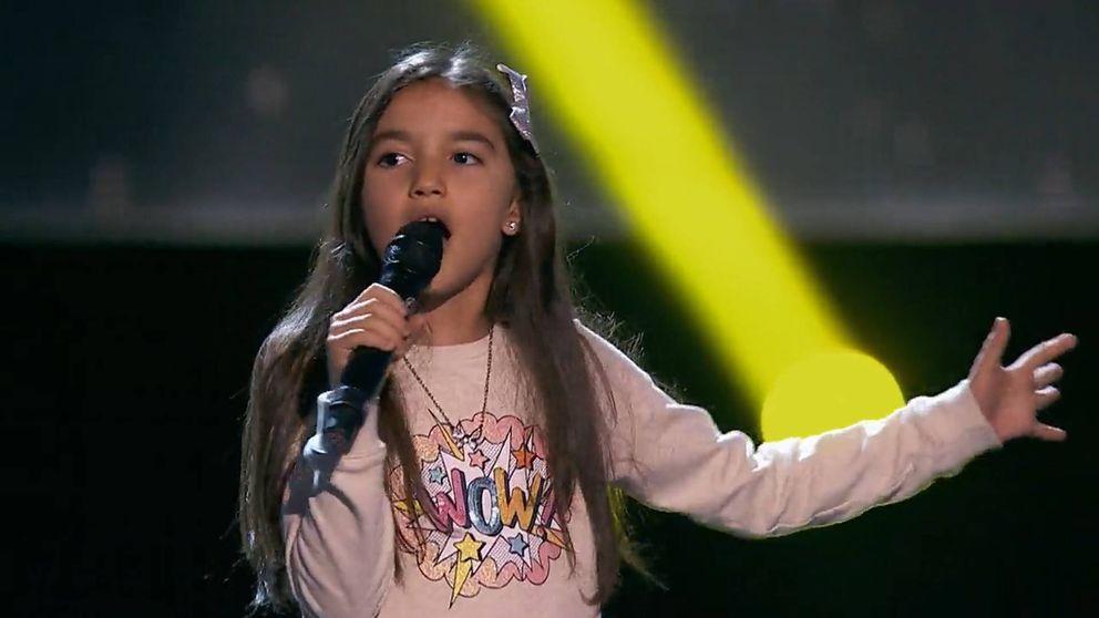Amira, la niña que encandila a la audiencia y no a los coaches de 'La Voz'