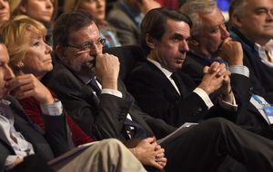 Aznar agita al PP con su llamada a la autocrítica por falta de pulso