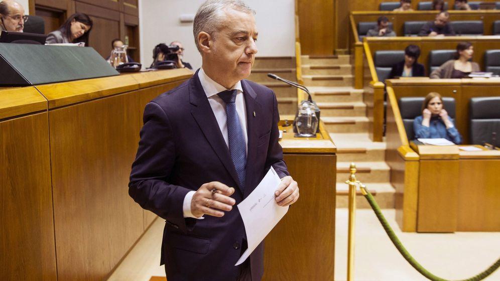 Foto: Urkullu mantiene la incógnita electoral y anuncia nuevos proyectos de ley