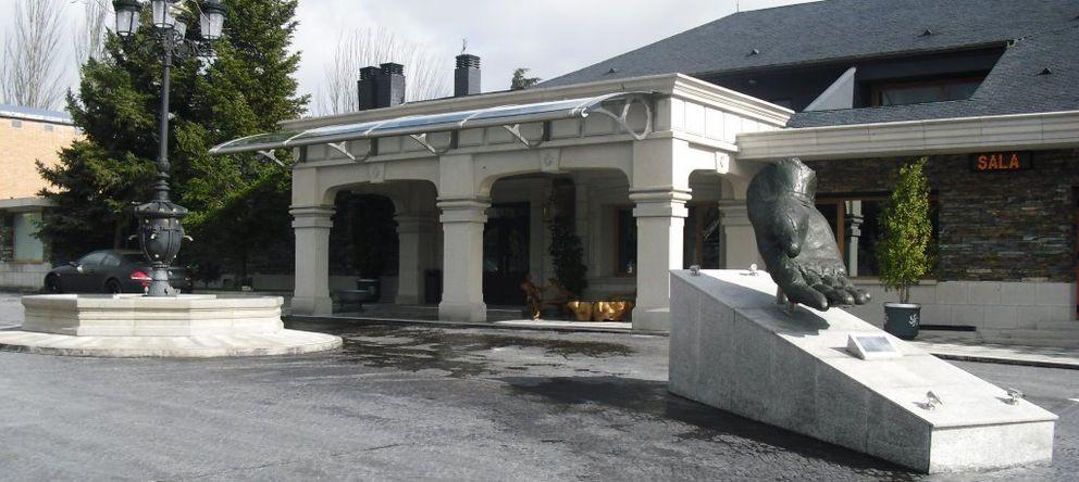 Foto: Fachada exterior del restaurante Sala regentado por los hermanos Chema y Óscar Martínez (M.C.)