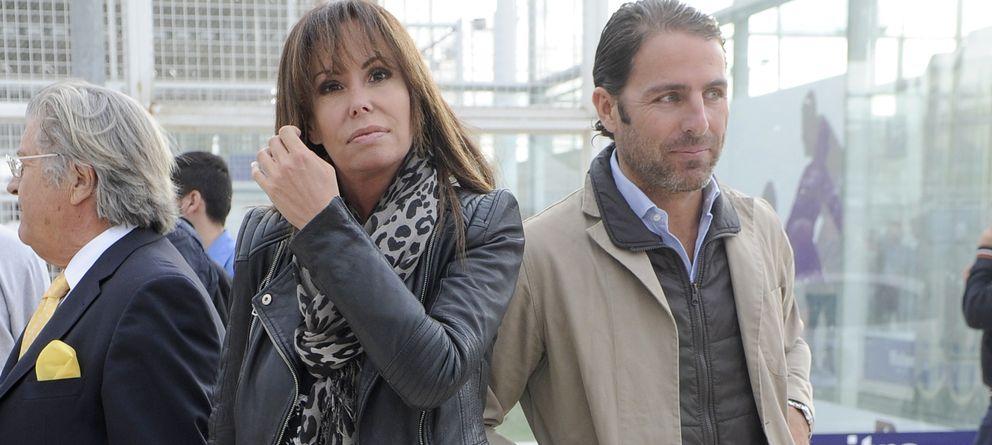 Foto: Lara Dibildos y Joaquín Capel en una imagen de archivo (Gtres)