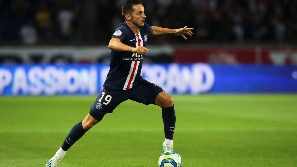Foto: Sarabia, en acción durante el encuentro contra el Toulouse de la semana pasada en la Ligue 1. (EFE)