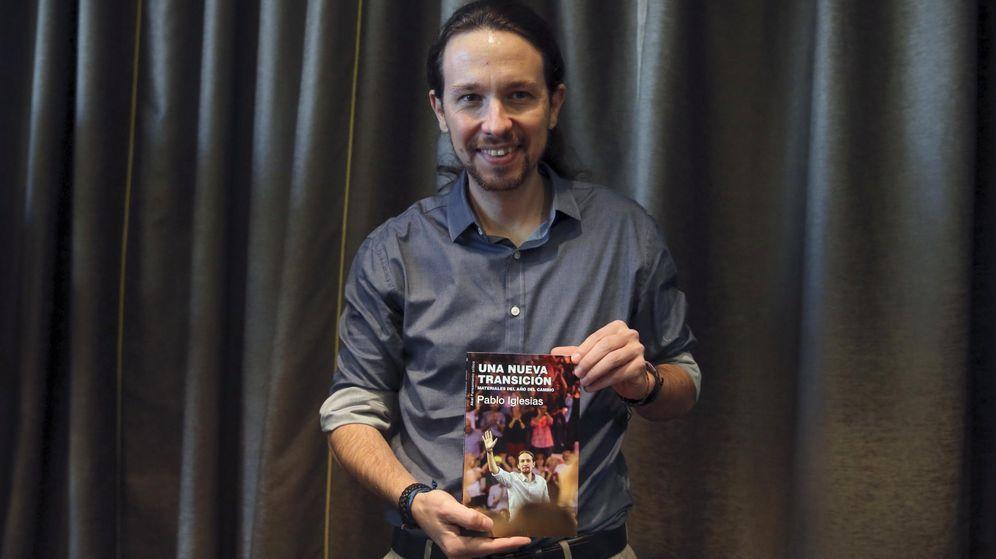 Foto:  El líder de Podemos, Pablo Iglesias, durante la presentación de su libro 'Una nueva transición', el pasado mes de diciembre. (EFE)