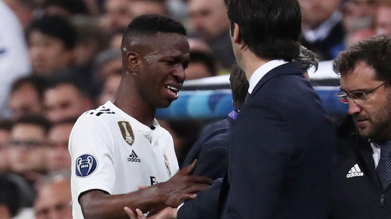 La irrupción de Vinicius es el legado de Solari en el Real Madrid. (Reuters)