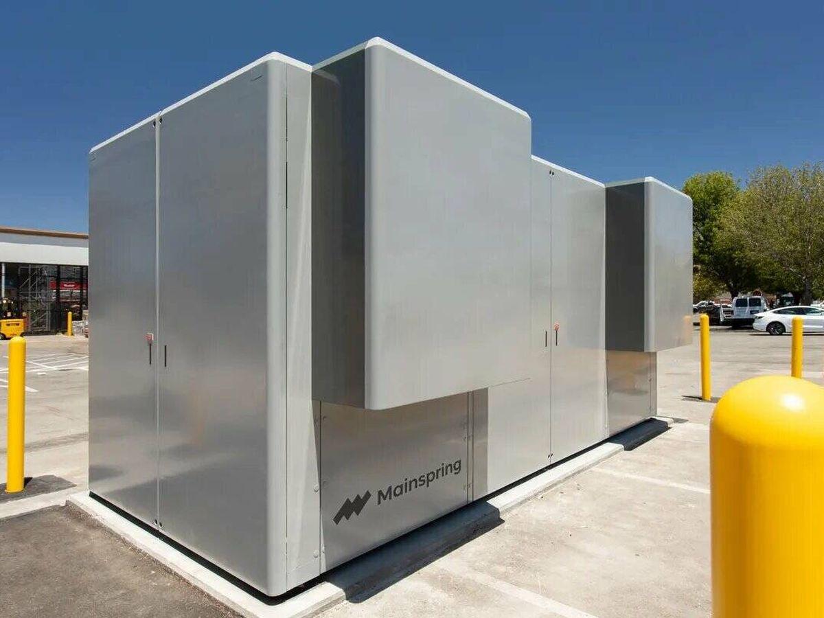 Foto: Conversor de la firma Mainspring Energy.