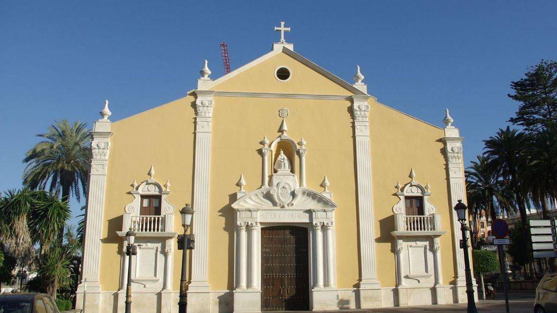 Fachada del Santuario de Santa María de África, en Ceuta. (Takashi/Wikipedia)