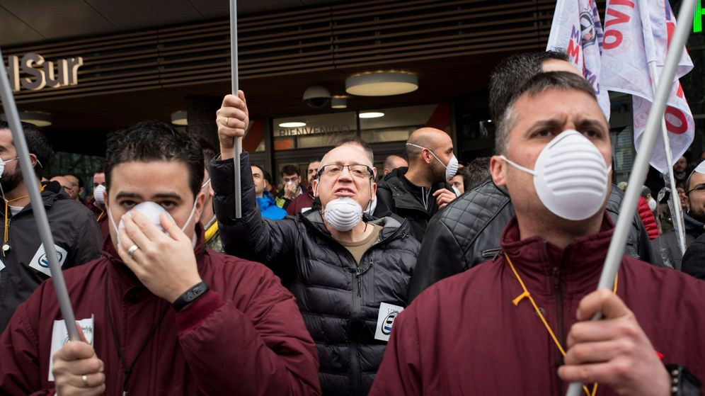 Foto: Los paros en Metro de Madrid empezaron el 8 de marzo | EFE