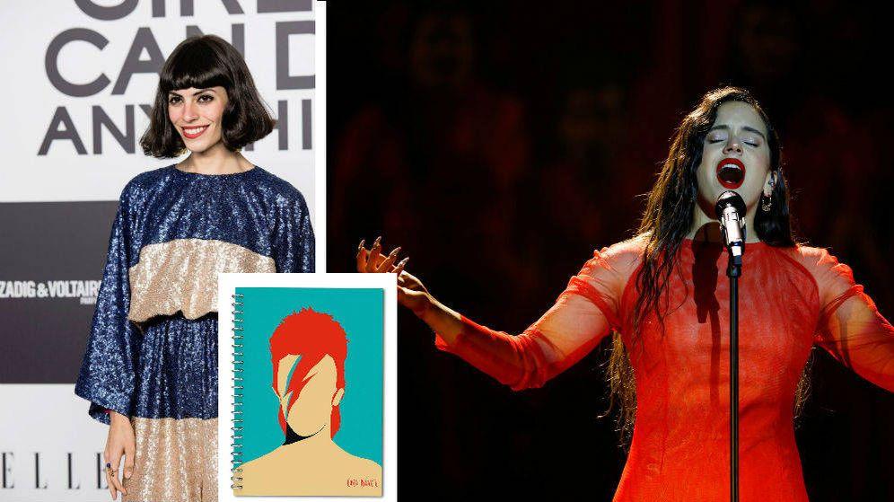 Foto: Valeria Palmeiro, creacora de Coco Dávez, y Rosalía, entre las personas más influyentes de la cultura de Europa de menos de 30 años