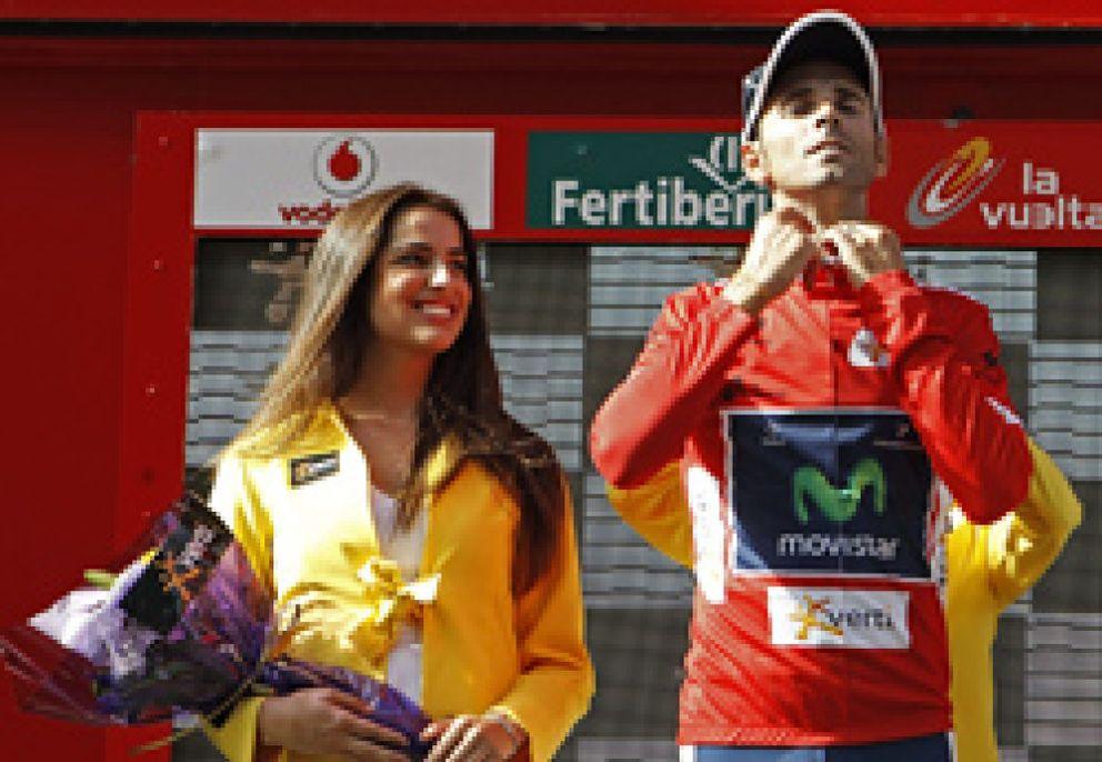 Valverde 'roba' una etapa a Purito Rodríguez en la que Contador atacó hasta siete veces