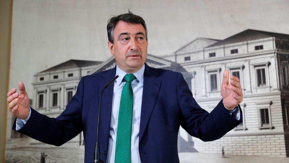 Foto: Aitor Esteban, en el Congreso. (EFE)