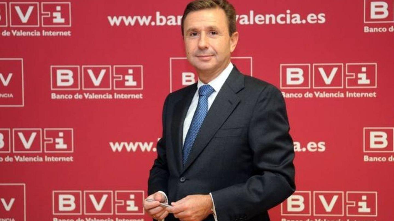 El ex director general de Bancaja y expresidente del Banco de Valencia Aurelio Izquierdo.
