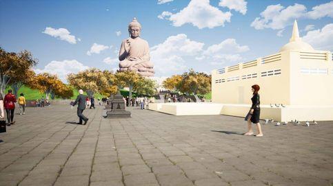 El alcalde que quiere construir en Cáceres el Buda sentado más grande del mundo