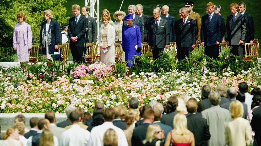 Foto: Inauguración de la Fuente Memorial a la princesa Diana. (Getty)