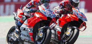 Post de La nueva china que Jorge Lorenzo recibe de Andrea Dovizioso en Ducati