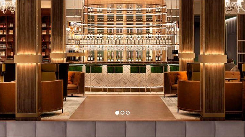 Una de las estancias del reformado Gran Hotel Inglés.