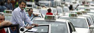 España se queda sin taxis: casi el 90% secunda el paro