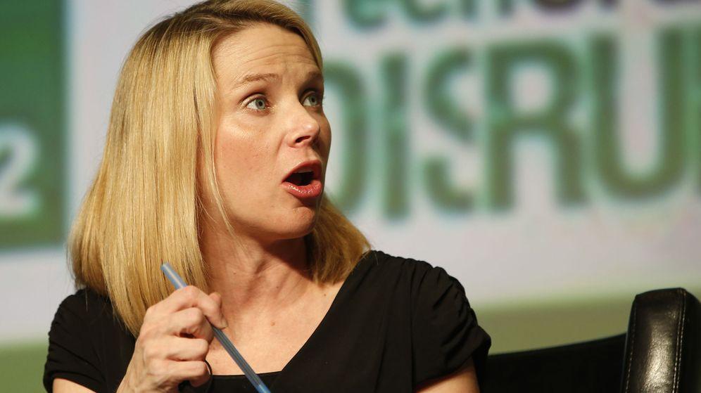 Foto: Marissa Mayer, actual consejera delegada de Yahoo.