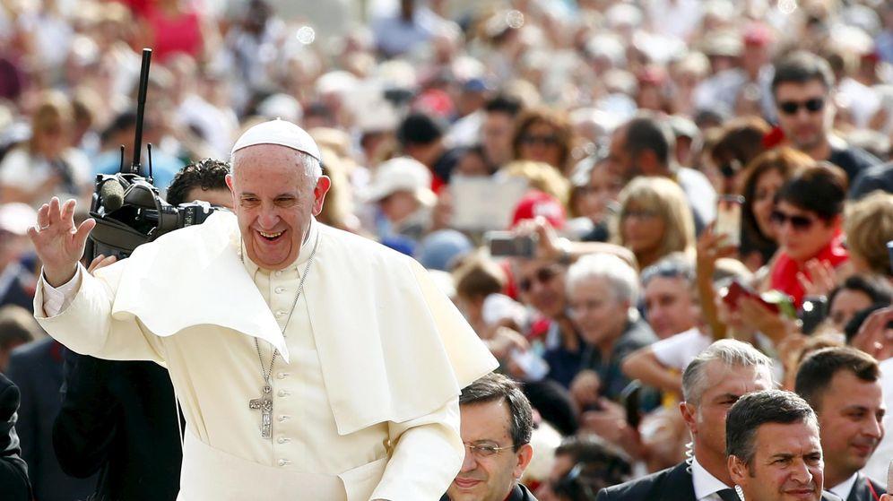 Foto: El papa Francisco esta mañana, en su habitual audiencia de los míercoles. (REUTERS/Tony Gentile)