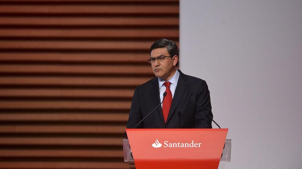 Foto: El consejero delegado del Santander, José Antonio Álvarez