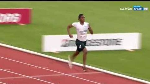 Caster Semenya se queda a un segundo del mítico récord mundial de Kratochvilova