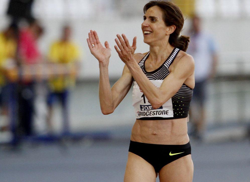 Foto: En la imagen, la atleta Nuria Fernández. (EFE)
