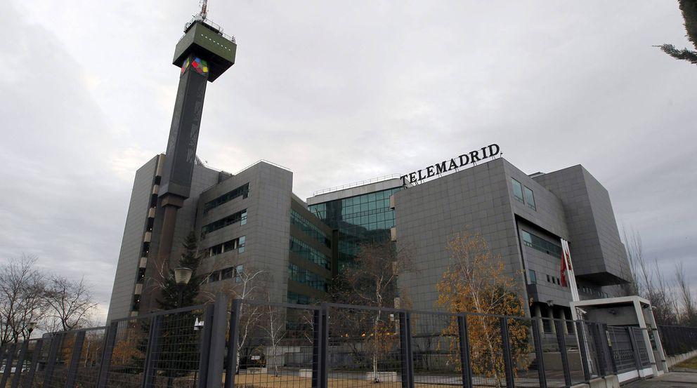 Foto: Vista general de instalaciones de Telemadrid en Pozuelo de Alarcón (Madrid) (EFE)