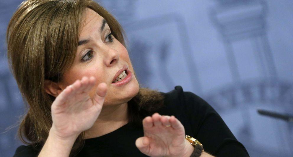 La vicepresidenta del Gobierno, Soraya Sáenz de Santamaría. (EFE)