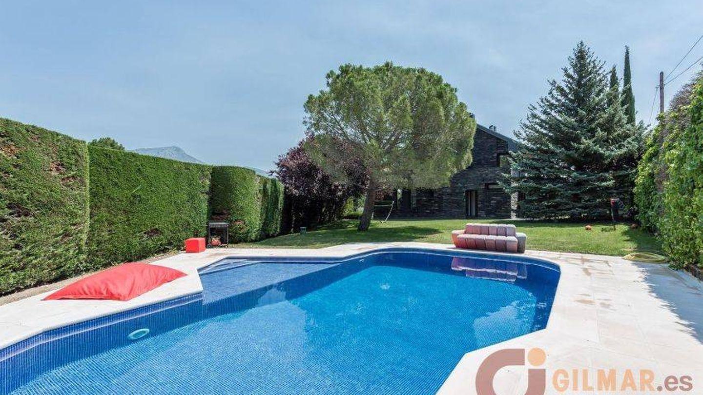 Imagen de la casa de Carlos Lozano en la sierra de Madrid. (Gilmar)