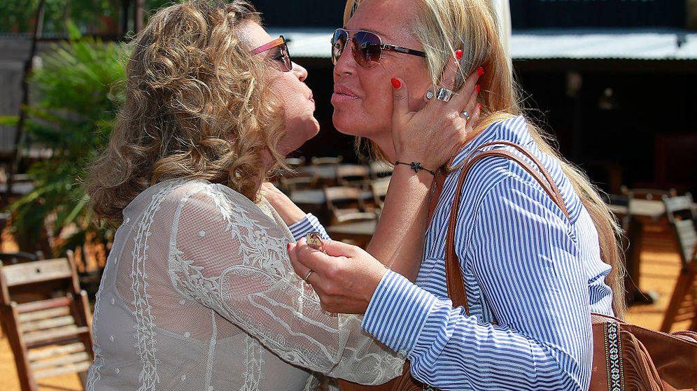 Foto: Belén Esteban y Terelu en una imagen de archivo. (Getty)