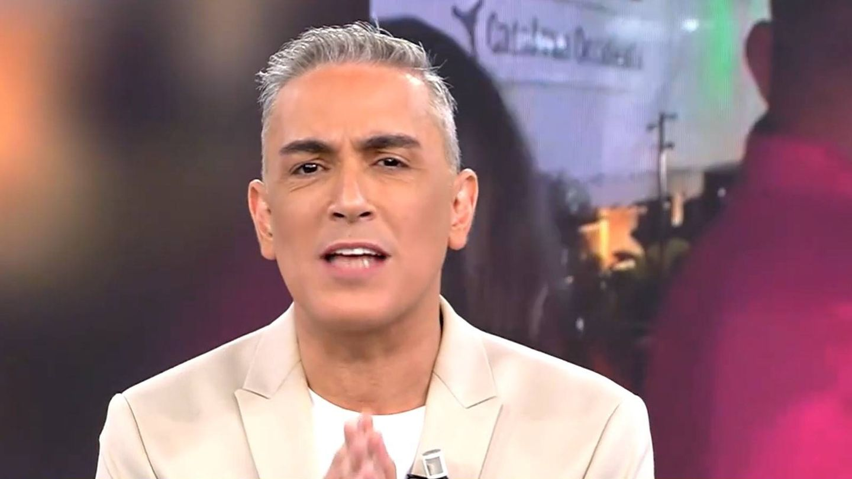 Bronca de Kiko Hernández. (Mediaset)