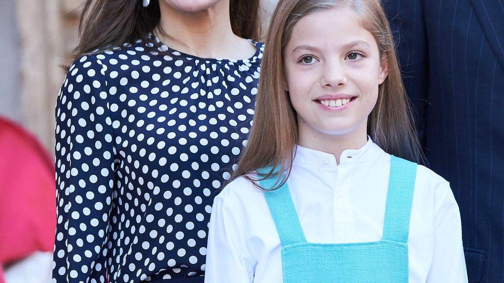 La reina Letizia y la infanta Sofía ya comparten ropa (y tenemos la prueba)