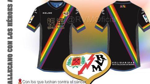El Rayo se fija en la causa social y se olvida del oportunismo de su arcoíris