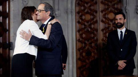 La esposa de Quim Torra, la (ahora ex) primera dama de Cataluña que se mantuvo al margen