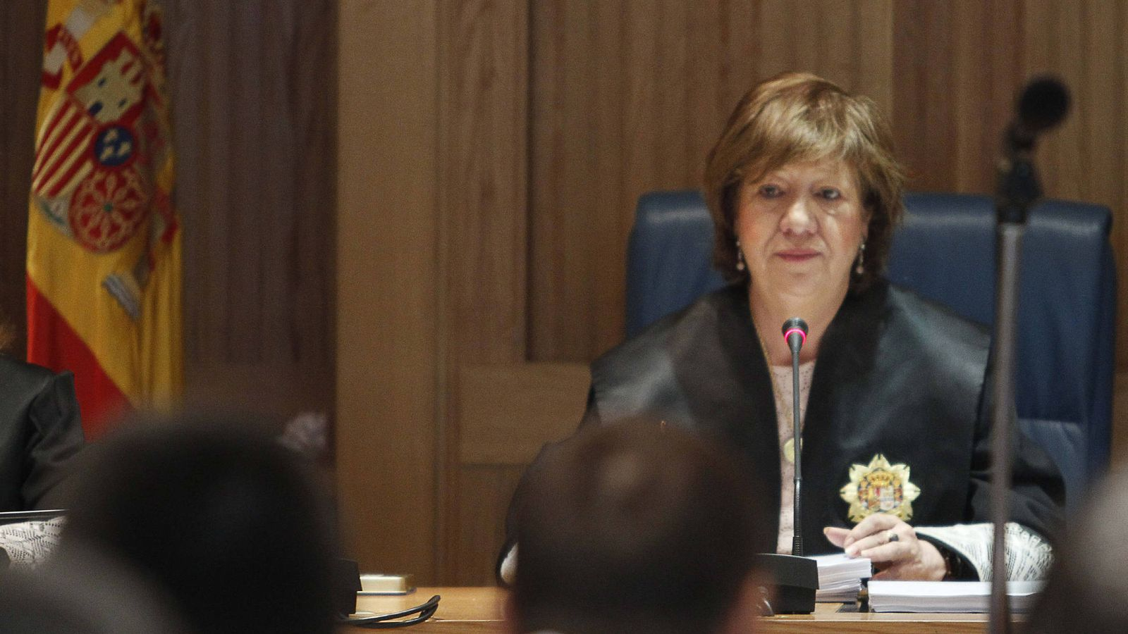 Foto: La jueza Ángela Murillo ha sido la ponente de esta sentencia. (EFE)